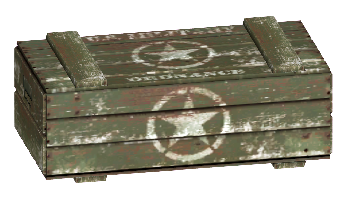 military shipping crate - Wooden Shipping Crates