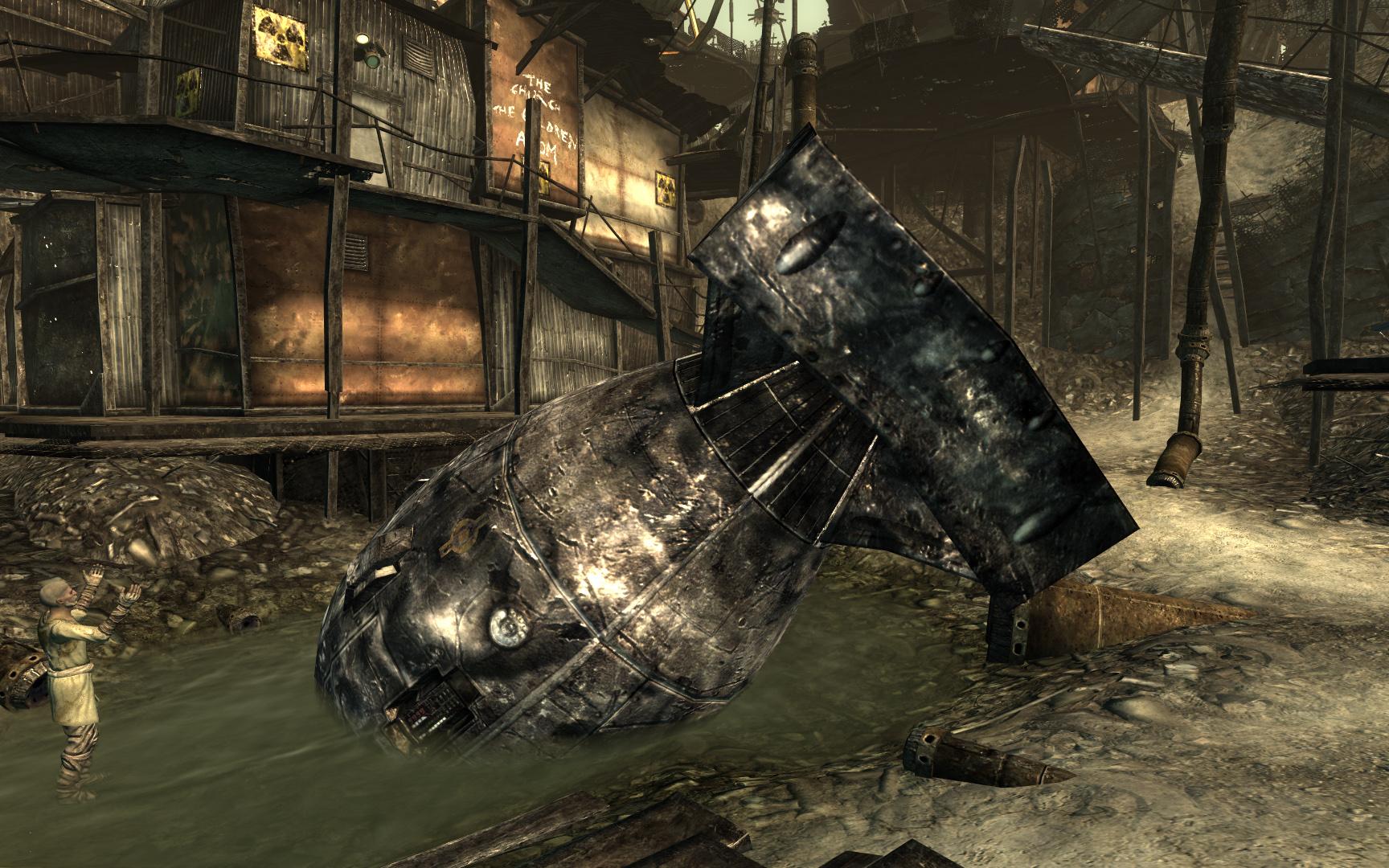 Megaton Atomic Bomb Fallout Wiki Fandom Powered By Wikia Game