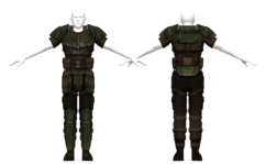 US Army combat armor