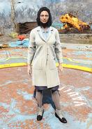 Cabot's lab coat female