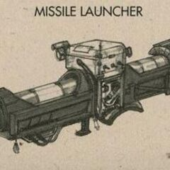 <i>Fallout 3</i> concept art of the missile launcher