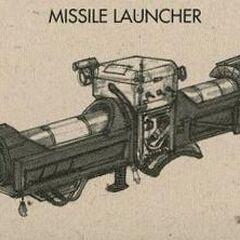 <i>Fallout 3</i> missile launcher concept art