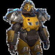FO76 Ultracite prototype power armor paint