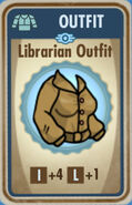 FoS Librarian Outfit Card