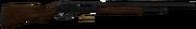 Hunting shotgun blown up