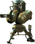 Machinegun turret FO4