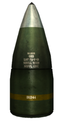 FNV howitzer shell