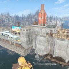 Фабрика з річки