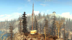 FO4FH Ruined radio tower1