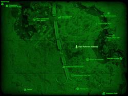 FO4 Парк Роботикс Пайонир (карта мира)