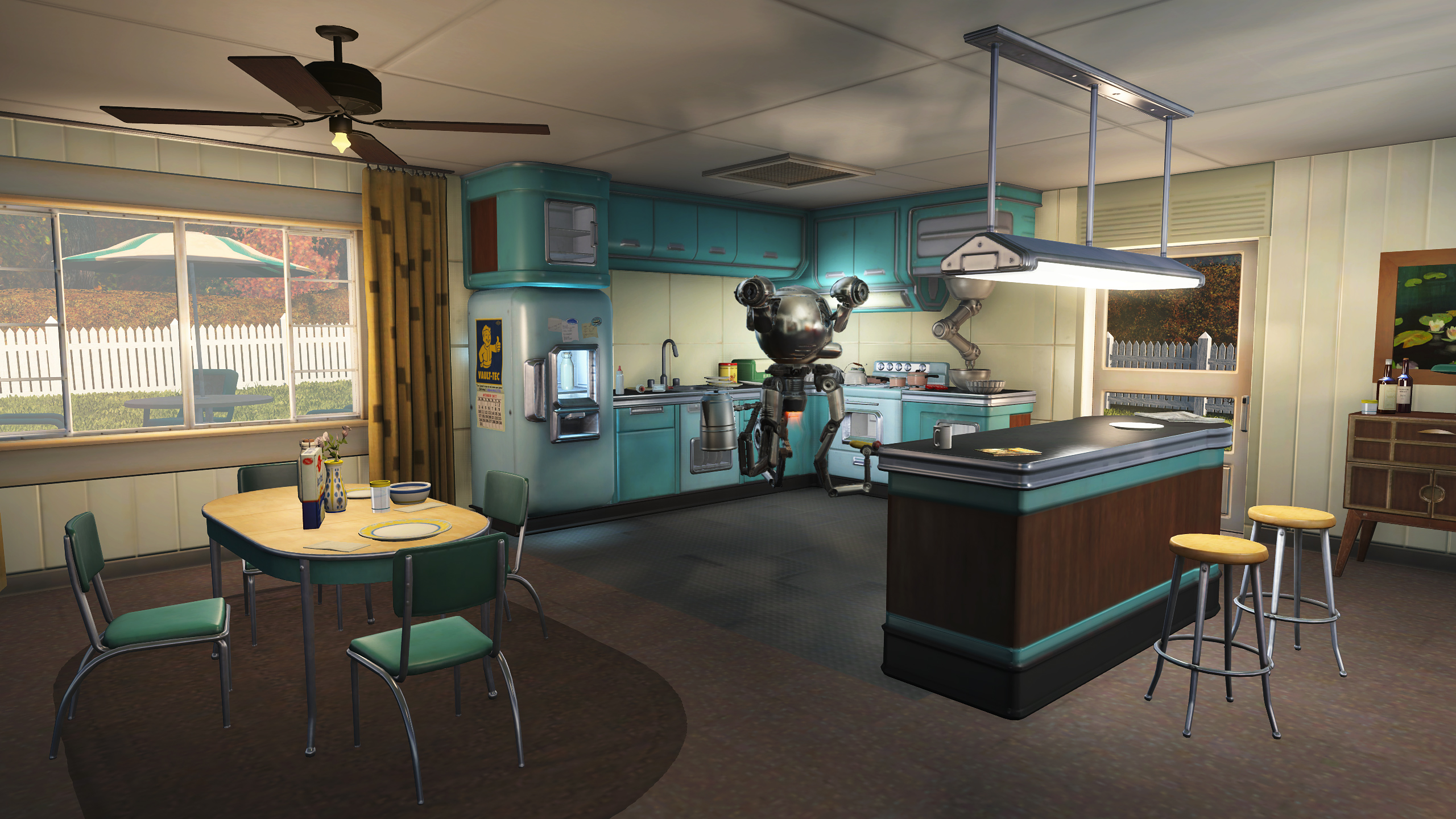 FO4 Sanctuary Hills kitchenroom