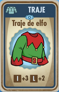 FOS Traje de elfo carta