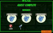 FoS Off the Rails rewards