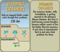 FoS Wedding Crashers card