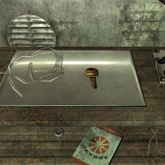 Ключ від схованки в Анкориджском меморіалі