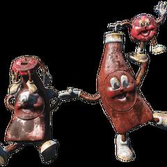 Статуї Кришки і Пляшки