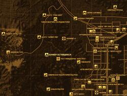FNV Карта БУНКЕР ОСТАВШИХСЯ