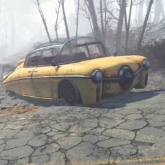 Зруйнований автомобіль в <a href=