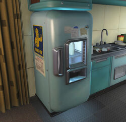 FO4 Refrigerator in House of Tomorrow