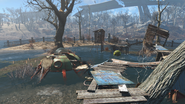 FO4 Westing estate ramparts