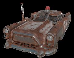 FO76 Cop Car