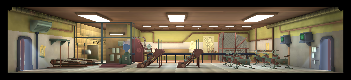 Bild fitness room level fallout wiki fandom