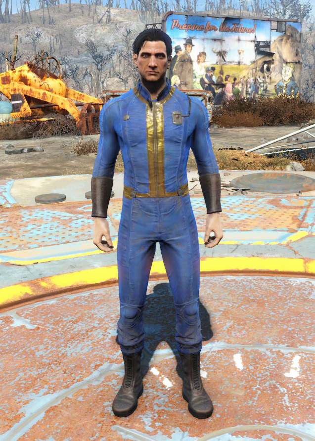 Fallout 4 Vault Dweller Costume - Adult Images-2108