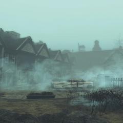 Готель в тумані