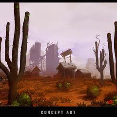 """概念图:""""沙漠"""""""