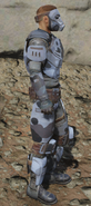 Urban scout armor side