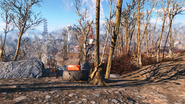 FO4 Container with medicines at the Red Rocket truck stop