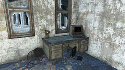 FO4 Madden's Office Terminal