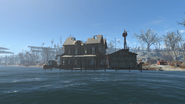 FO4 Taffington boathouse view 1