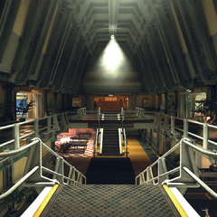 Test vault atrium