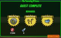 FoS The Towering Il Forno rewards