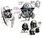 FNCCE Helmet sketches