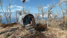 FO4 Spectacle Island (Radio tower and workshop)