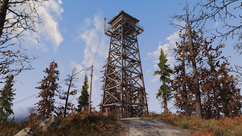 FO76 Whitespring lookout