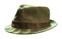 Fo4 trilby hat