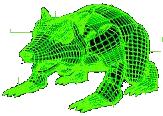Pig rat render