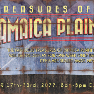<i>Treasures of Jamaica Plain</i> реклама