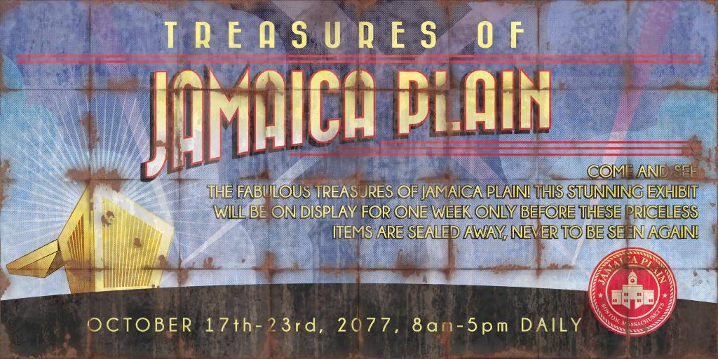 Treasures of Jamaica Plain Exhibit