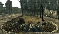 Bethesda ruins Small mine field