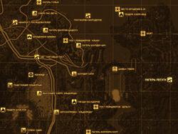 FNV Карта ЛАГЕРЬ ЛЕГАТА