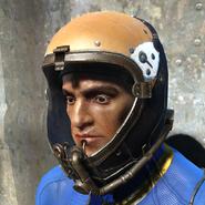 FO4 Коричневый лётный шлем