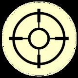 Значок головастиков: охотник