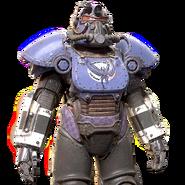 FO76 Mothman power armor paint