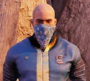 FO76 blue bandana