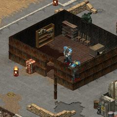 Будівля в таборі