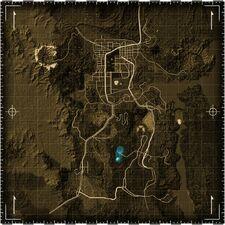 REPCONN Test Site map